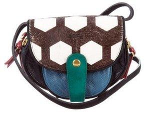 Jerome Dreyfuss Ponyhair Momo Crossbody Bag