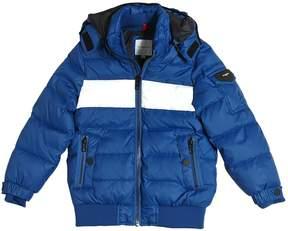 Hooded Nylon Down Jacket
