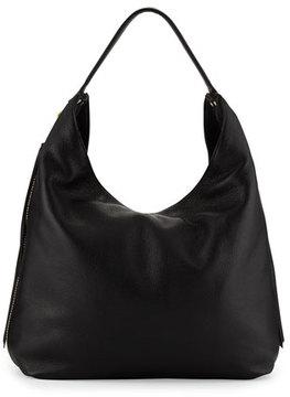 Rebecca Minkoff Bryn Leather Hobo Bag, Black - BLACK - STYLE