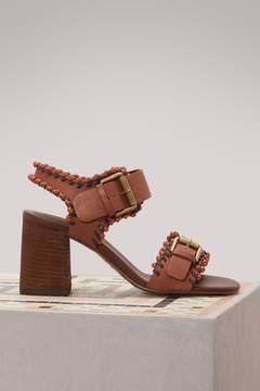 See by Chloe Romy heeled sandals
