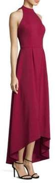 Laundry by Shelli Segal Strappy Hi-Lo Gown