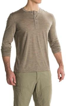 Ibex OD Henley Shirt - Merino Wool, Long Sleeve (For Men)