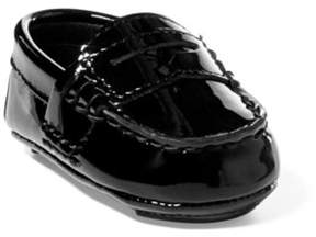 Ralph Lauren Telly Patent Leather Loafer Black 0 (0-6Wks)