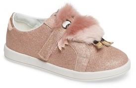 Sam Edelman Girl's Liv Ovee Faux Fur Monster Sneaker