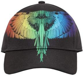 Marcelo Burlon County of Milan Starter Rainbow Canvas Baseball Hat