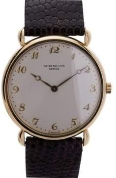 Patek Philippe Calatrava 3820 Vintage 18K Yellow Gold Manual Winding Mens Watch