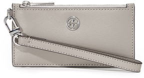 Tory Burch Parker Zip Card Case - DUST STORM - STYLE