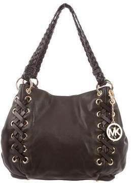 MICHAEL Michael Kors Leather Whipstitch Shoulder Bag