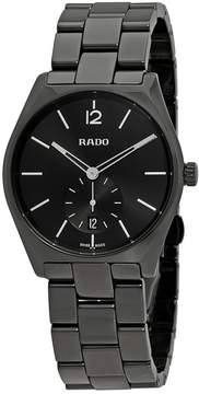 Rado True Specchio Black Dial Men's Watch