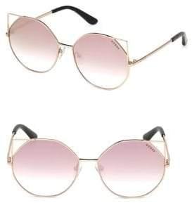 GUESS 58MM Angular Gradient Sunglasses