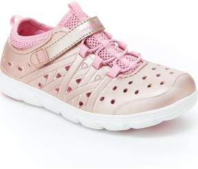 Stride Rite Made2Play Phibian Metallic Sneaker Sandal
