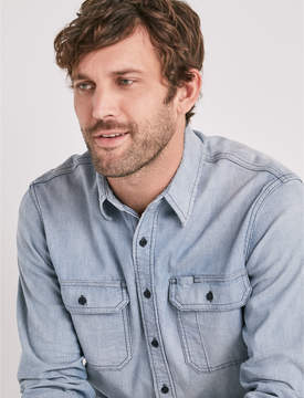 Lucky Brand RELAXED MILITARY SHIRT