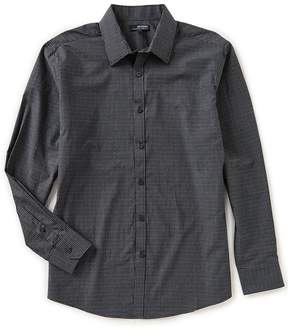 Murano Wardrobe Essentials Point Collar Check Woven Shirt