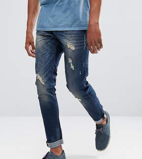 Blend of America Echo Skinny Fit Jean Rip & Repair