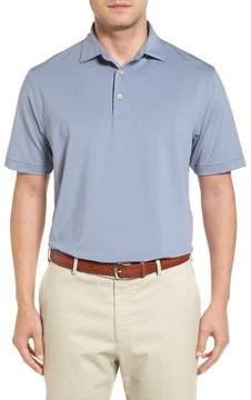 Peter Millar Basset Stripe Jersey Polo