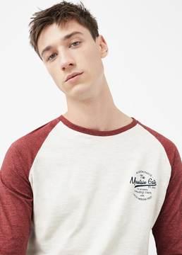 Mango Outlet Raglan sleeve t-shirt