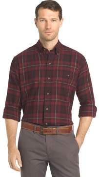 Arrow Big & Tall Saranac Regular-Fit Plaid Flannel Button-Down Shirt