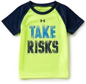 Under Armour Little Boys 2T-7 Take Risks Short-Sleeve Tee