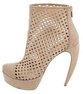 Walter Steiger Perforated Platform Booties