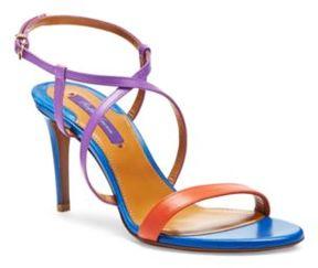 Ralph Lauren Arissa Color-Blocked Sandal Multi 38