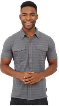 Royal Robbins Breeze Thru Stripe Button Front Shirt Men's Short Sleeve Button Up