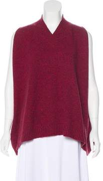 eskandar Sleeveless Wool Top