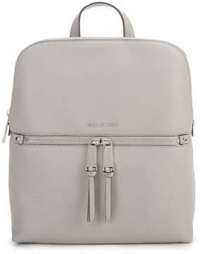 MICHAEL Michael Kors Rhea Slim Zip Backpack - PEARL GREY - STYLE
