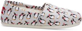 Toms Holiday Penguin Women's Classics
