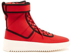 Fear Of God Military neoprene high-top trainers