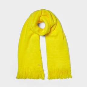 River Island Womens Yellow blanket scarf
