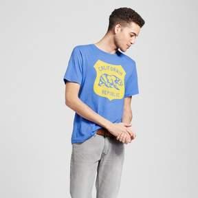 Awake Men's California Republic T-Shirt - Blue