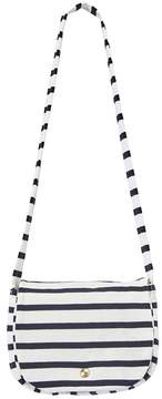 Petit Bateau Girl's striped shoulder bag