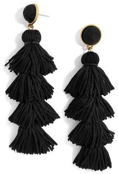BaubleBar Women's Taylor Tassel Drop Earrings