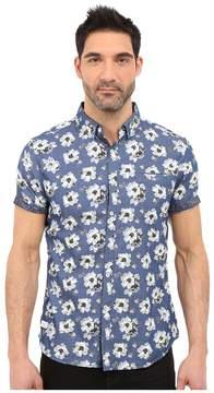7 Diamonds Ashbury Short Sleeve Shirt Men's Short Sleeve Button Up