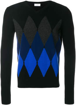 Ballantyne cashmere embroidered sweater
