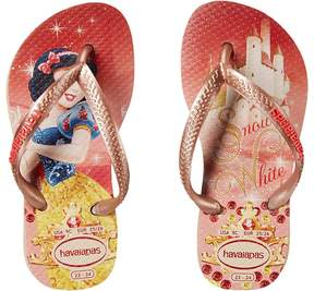 Havaianas Slim Princess Disney Flip Flops (Toddler/Little Kid/Big Kid)