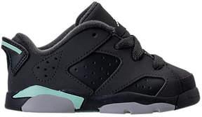 Nike Girls' Toddler Jordan Retro 6 Low Basketball Shoes