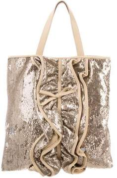 RED Valentino Sequined Tote Bag