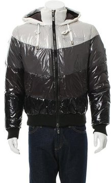 Galliano Down-Filled Hooded Jacket w/ Tags