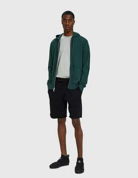 Reigning Champ Terry Full Zip Hoodie in Court Green
