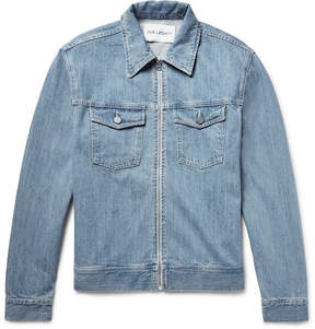 Our Legacy Lean Zip-Up Denim Jacket