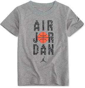 Jordan Air-Print Cotton T-Shirt, Little Boys