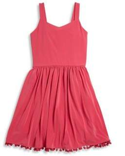 Un Deux Trois Girl's Sleeveless Knit Dress