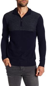 Qi Dual Tone Cashmere Sweater