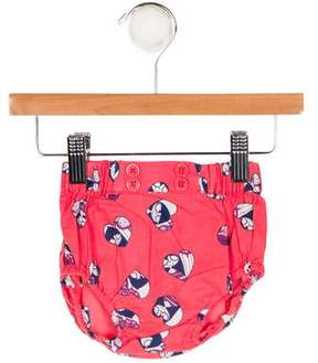 Little Marc Jacobs Girls' Printed Bloomers