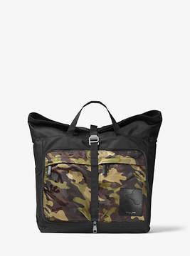 Michael Kors Kent Convertible Camouflage Backpack