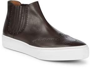 Bruno Magli Men's Alessio Leather Chelsea Sneakers