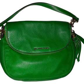 MICHAEL Michael Kors Green Leather Handbag