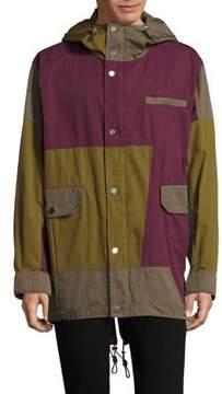 Bally Patchwork Parka Jacket
