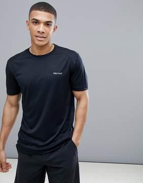 Marmot Active Windridge SS Running T-Shirt in Black
